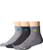 adidas - Color Cushioned 3-Pack Quarter Socks