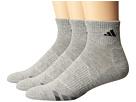 adidas Cushion 3-Pack Quarter Socks