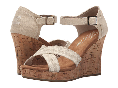 TOMS Strappy Wedge