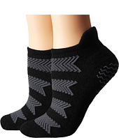 adidas - Studio 2-Pack No Show Socks