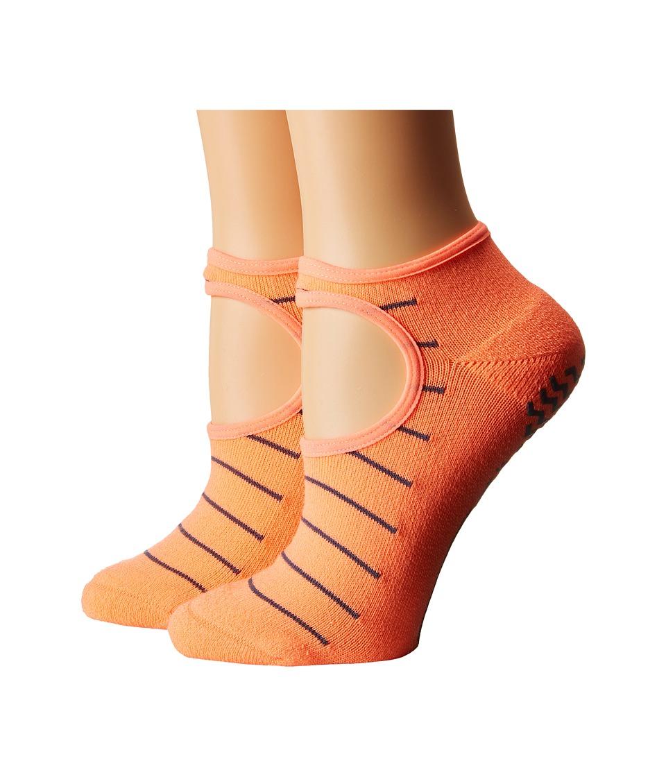 adidas Studio 2 Pack Super No Show Socks Sun GLow/Deepest Space Womens No Show Socks Shoes