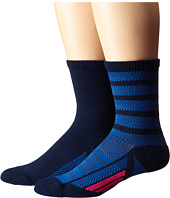 adidas - Studio 2-Pack Crew Socks