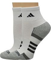 adidas - climalite® II 2-Pack Quarter Socks