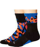 adidas Kids - Energy Camo 2-Pack Crew Socks (Little Kid/Big Kid/Adult)