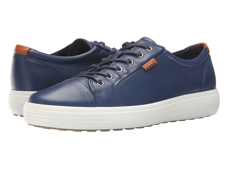 ECCO Soft VII Sneaker (True Navy) Men