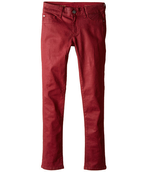 DL1961 Kids Chloe Skinny Coated Jeans in Sparrow (Big Kids)