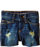 DL1961 Kids - Lucy Cut Off Jean Shorts in Amber (Toddler/Little Kids)