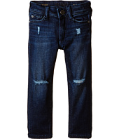 DL1961 Kids - Chloe Distressed Skinny Jeans in Possum (Toddler/Little Kids)