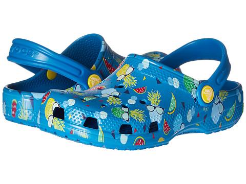 Crocs Kids Classic Summer Fun Clog (Toddler/Little Kid)