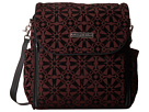 petunia pickle bottom Chenille Boxy Backpack (Evening Plum)