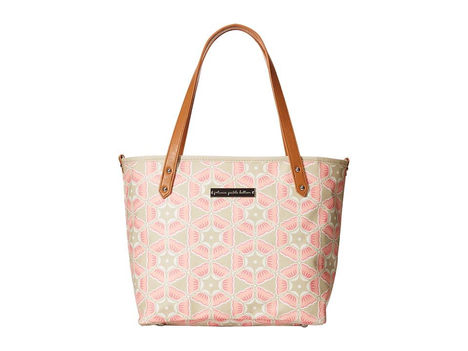 petunia pickle bottom - Glazed Downtown Tote Mini (Blooming Brixham) Tote Handbags