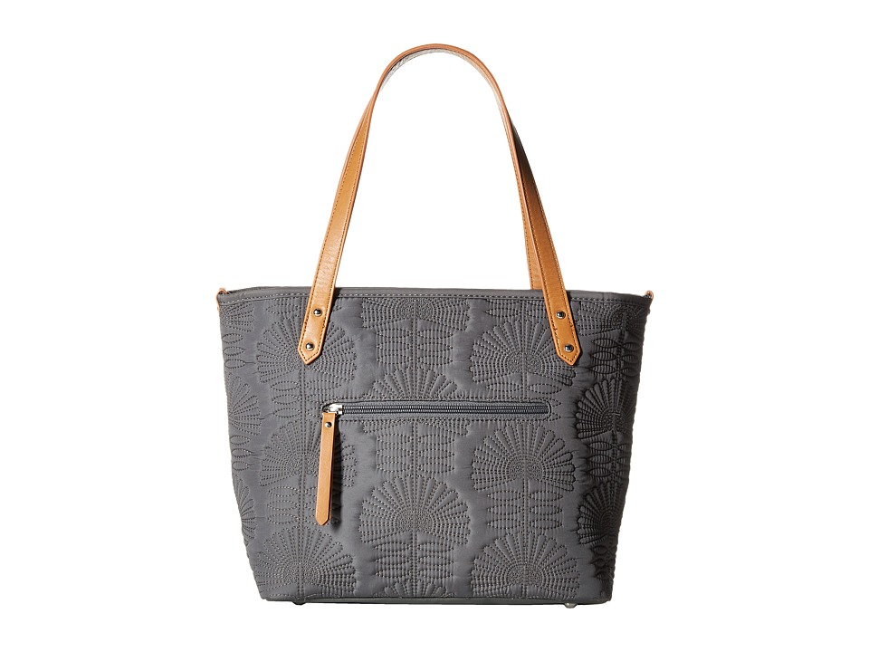 petunia pickle bottom - Embossed Downtown Tote Mini (Champs Elysees Stop) Tote Handbags