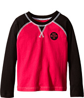 True Religion Kids - Long Sleeve Raglan Graphic Tee Shirt (Toddler/Little Kids)