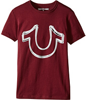 True Religion Kids - Reflective Print Horse Shoe Tee Shirt (Big Kids)