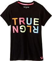 True Religion Kids - Crew Neck Tr Tee Shirt (Big Kids)
