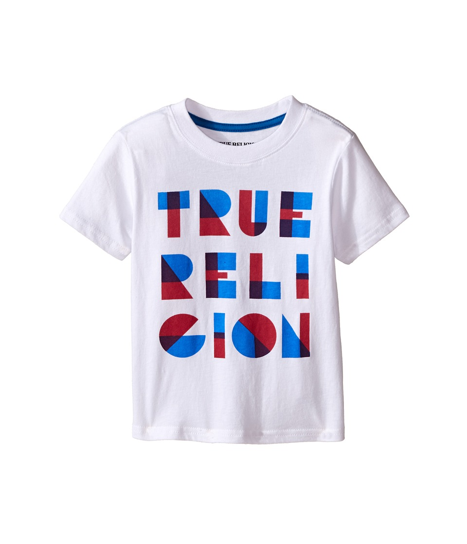 True Religion Kids Tr Shapes Tee Shirt Toddler/Little Kids White Boys T Shirt