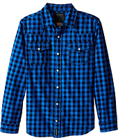 True Religion Kids - Buffalo Check Woven Shirt (Big Kids)