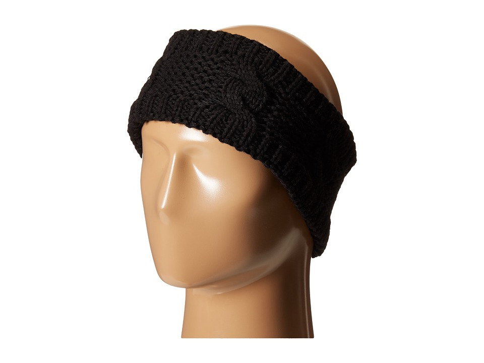 BULA Lulu Earband Black Knit Hats