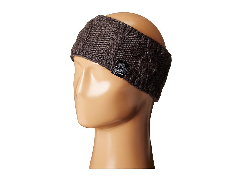BULA Aran Earband Asphalt Knit Hats