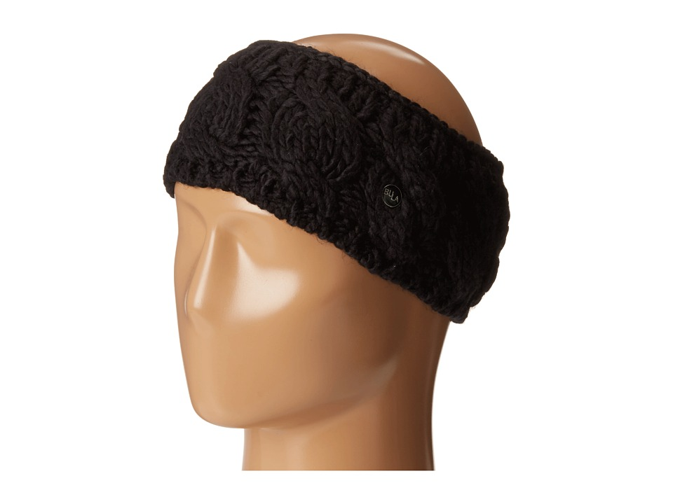 BULA Lina Earband Black Knit Hats