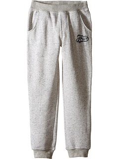 Image of True Religion Kids - Fleece Sweatpants (Big Kids) (Heather Grey) Boy's Casual Pants
