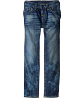 True Religion Kids - Geno Natural Single End Jeans in Hawks Navy (Big Kids)