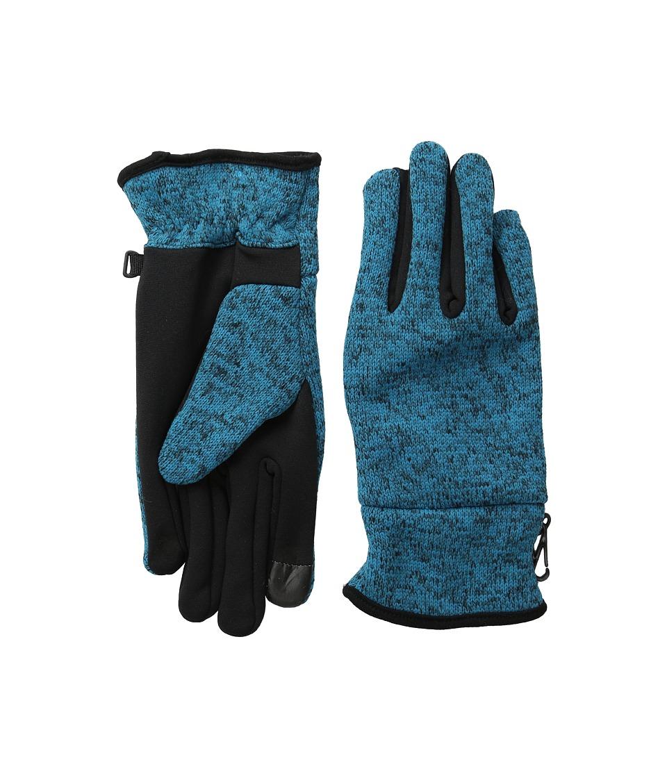 BULA Latif Gloves (Heather Dark Teal) Extreme Cold Weather Gloves