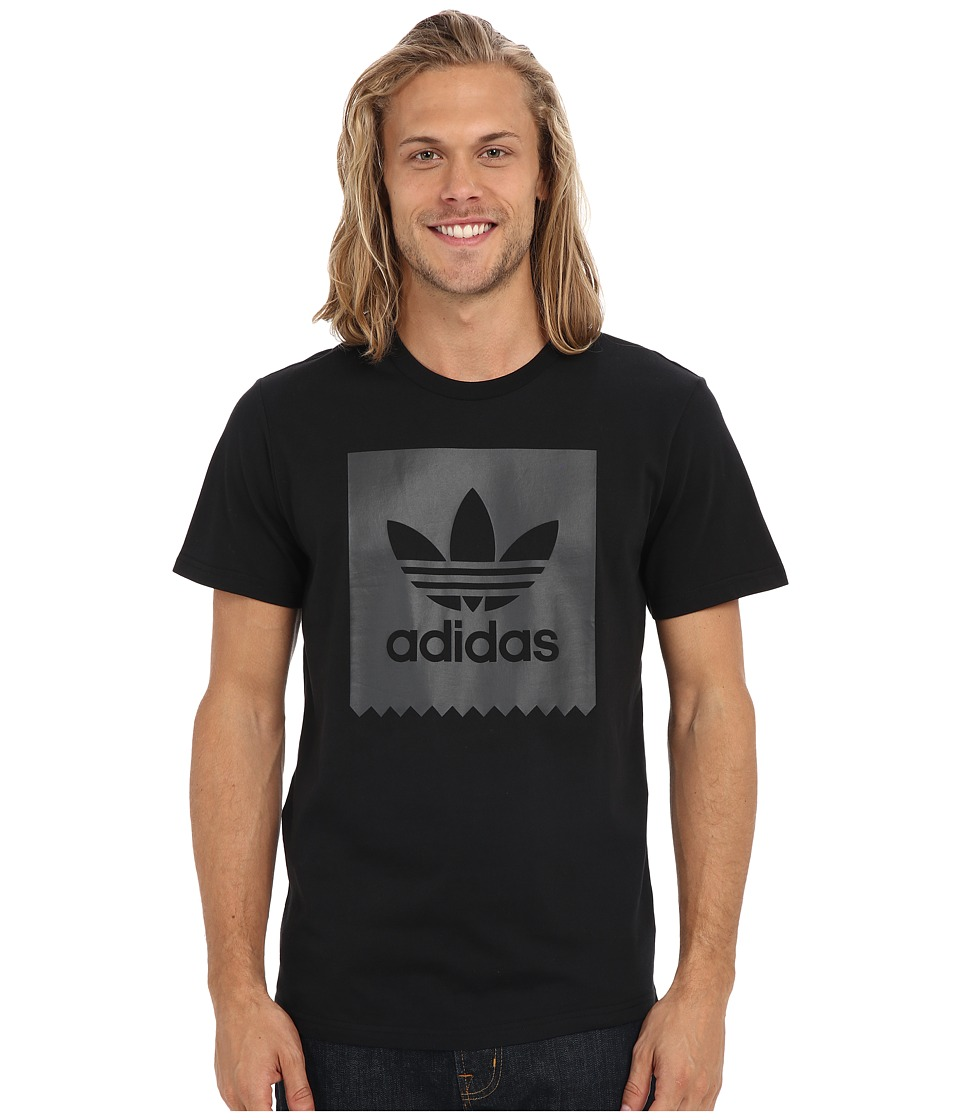 adidas Skateboarding Blackbird Logo Fill Tee (Black) Men