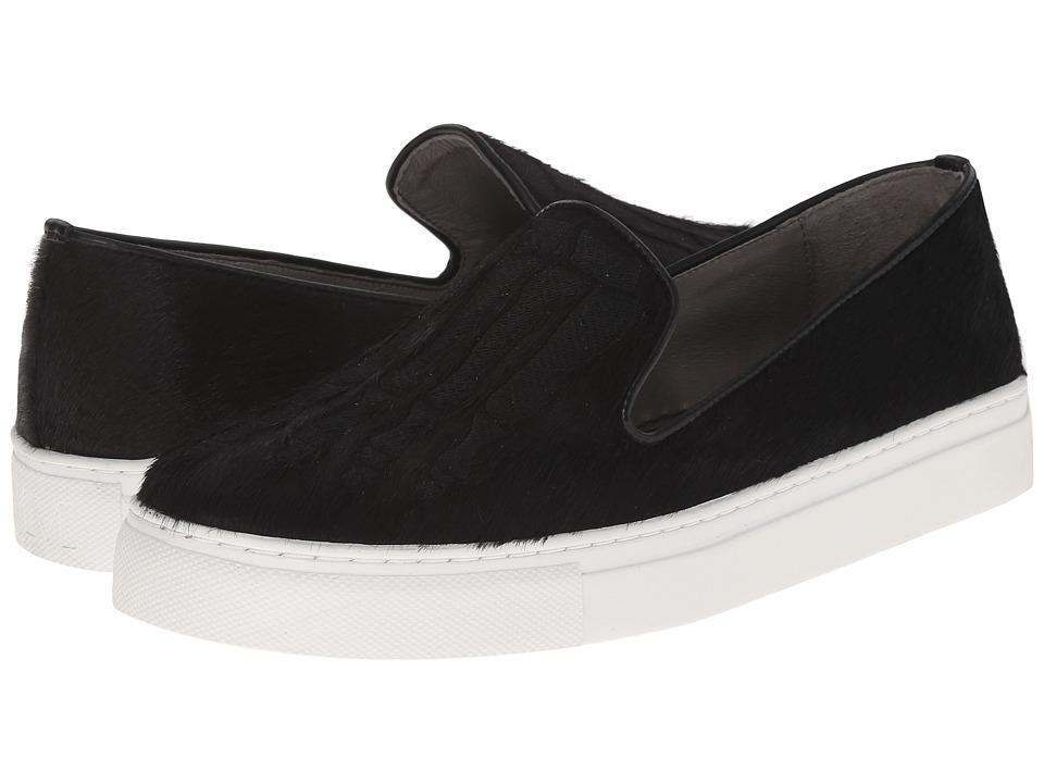 Mara and Mine Jem Skull Sneaker Black/Black Womens Slippers
