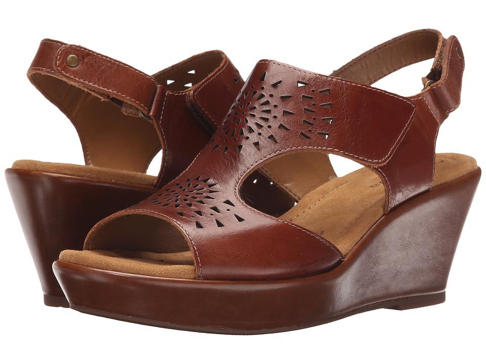Comfortiva Rainer Luggage Montana Womens Wedge Shoes