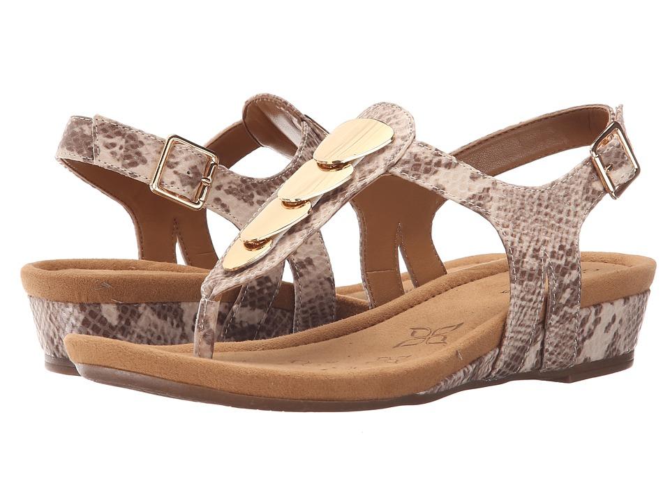 Comfortiva Summit Sand Viper Desert Flex Womens Sandals