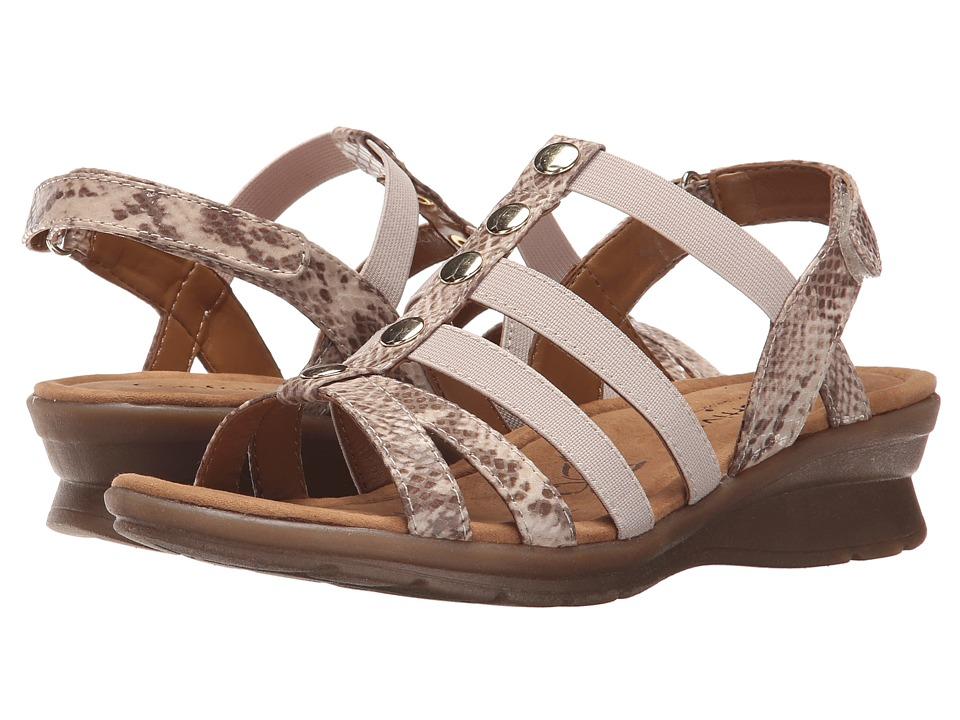Comfortiva Kalista Sand Viper Desert Flex Womens Sandals