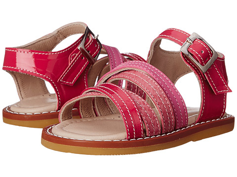 Elephantito Crossed Sandal (Toddler) - PTN Hot Pink