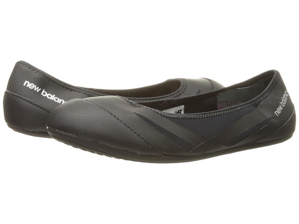 New Balance - En Route Ballet Flat - WL118 (Black/Azalea) Womens Dance Shoes