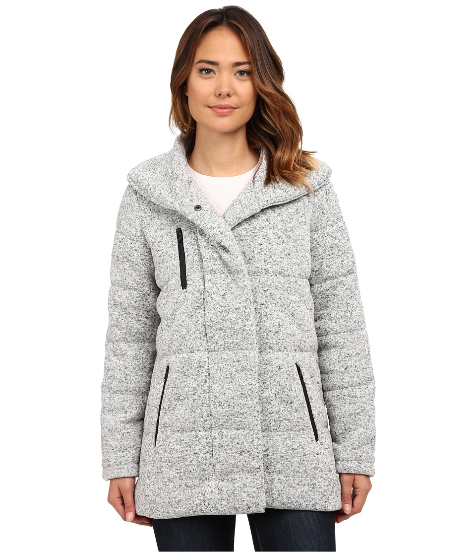 Hurley Augustine Puffer Jacket Heather Cool Grey Womens Coat