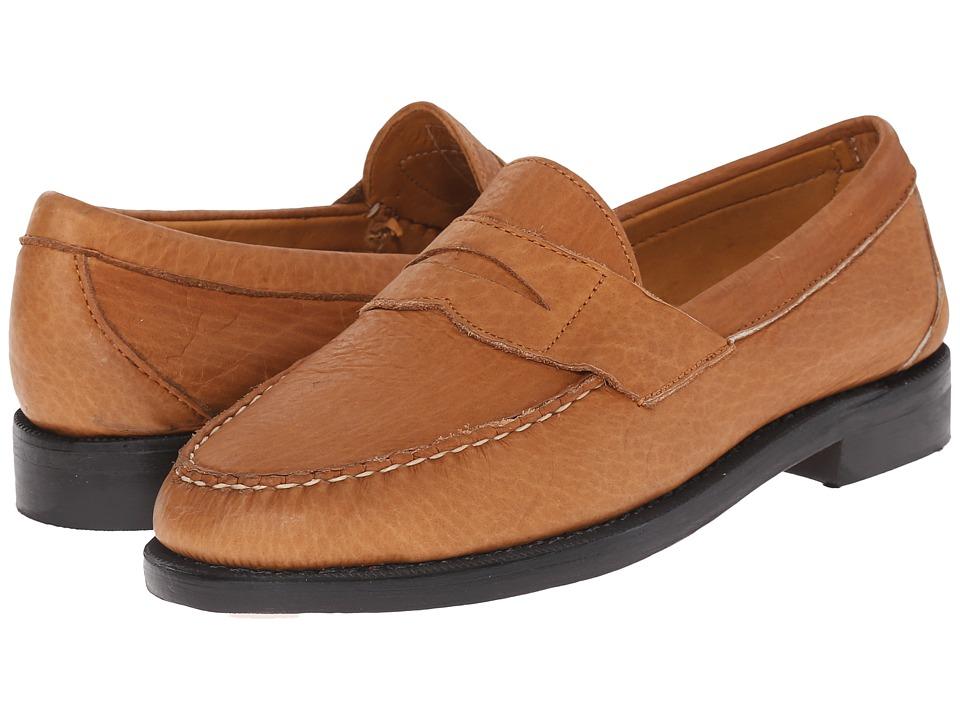 Sebago - Crest Cayman II (Golden Tan Bison Leather) Men