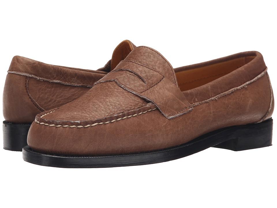 Sebago - Crest Cayman II (Brown Bison Leather) Men