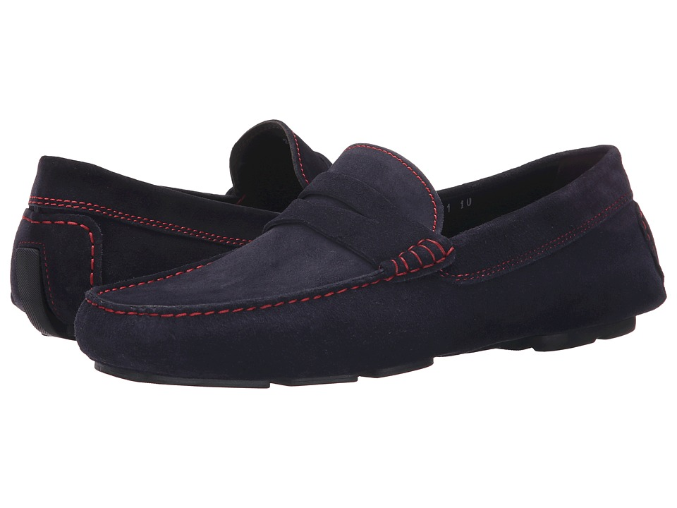 To Boot New York Ashton Blue/Red Mens Shoes