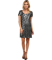 Laundry by Shelli Segal - Novelty Knit Cap Sleeve Dress