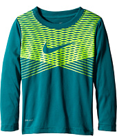 Nike Kids - Dri-Fit Chevron Pro Long Sleeve Tee (Little Kids)