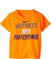 Nike Kids - Witness My Awesome Dri-Fit Tee (Little Kids)