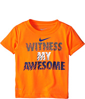 Nike Kids - Witness My Awesome Dri-Fit Tee (Toddler)