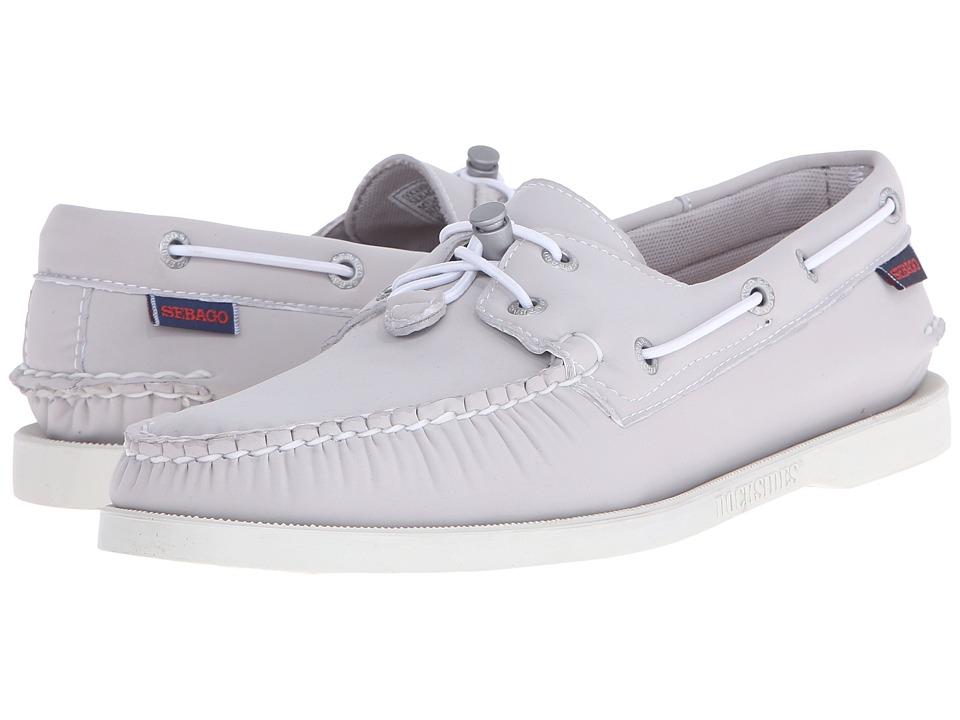 Sebago Dockside Ariaprene Grey Neoprene Mens Shoes