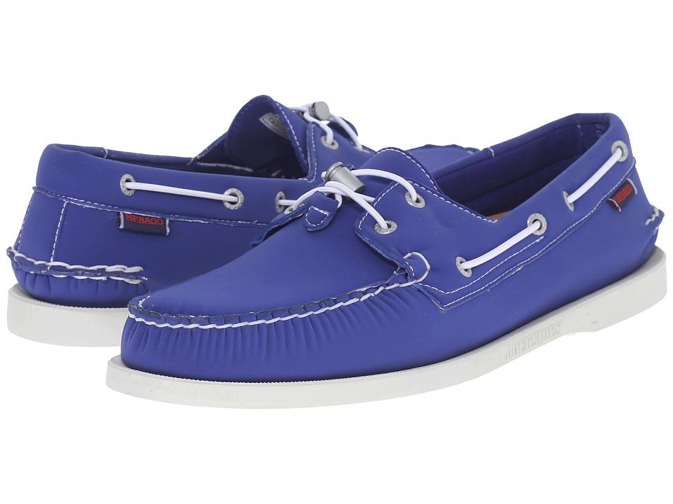 Sebago Dockside Ariaprene Dark Blue Neoprene Mens Shoes