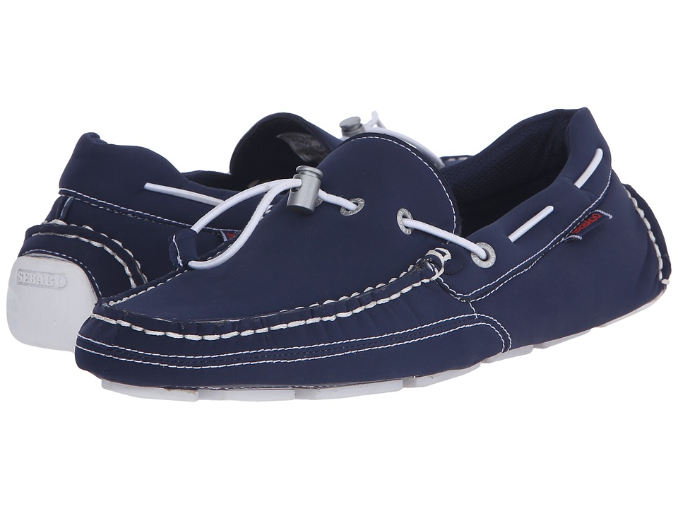 Sebago Kedge Tie Ariaprene Navy Ariaprene Mens Slip on Shoes