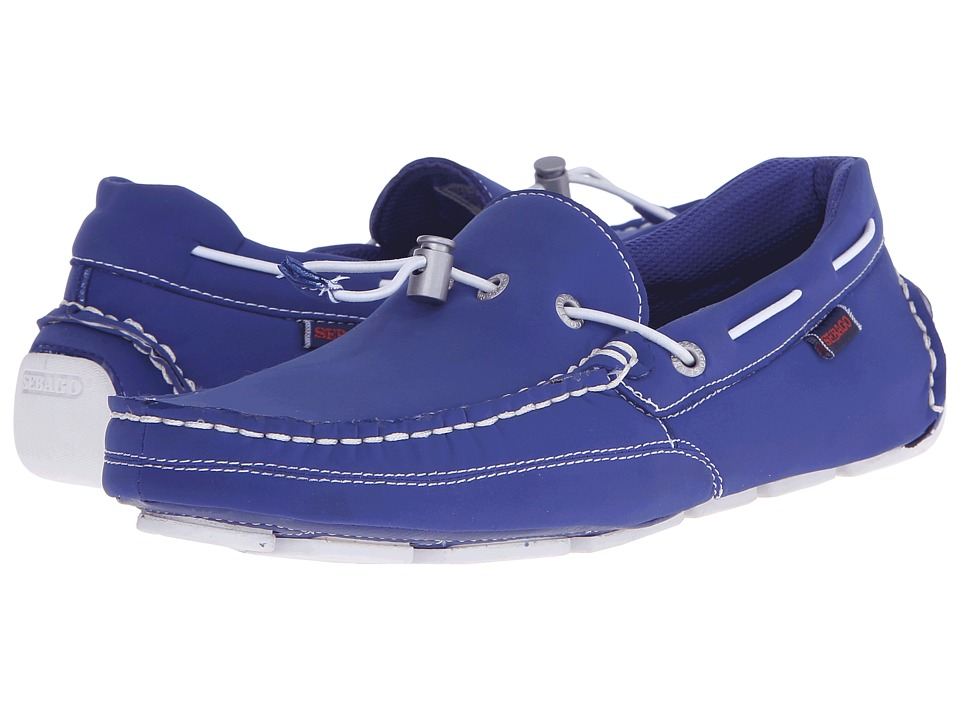 Sebago Kedge Tie Ariaprene Dark Blue Ariaprene Mens Slip on Shoes