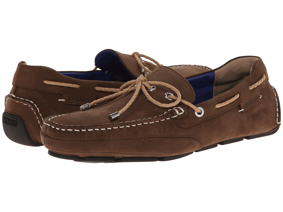 Sebago Kedge Tie Brown Nubuck Mens Shoes
