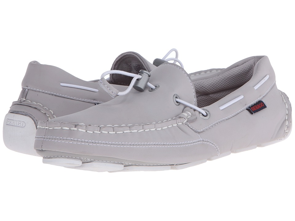 Sebago Kedge Tie Ariaprene Grey Ariaprene Mens Slip on Shoes