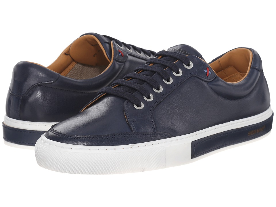Sebago Robinson Lace Up Navy Leather Mens Lace up casual Shoes