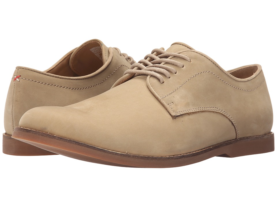 Sebago Norwich Oxford Taupe Nubuck Mens Lace up casual Shoes